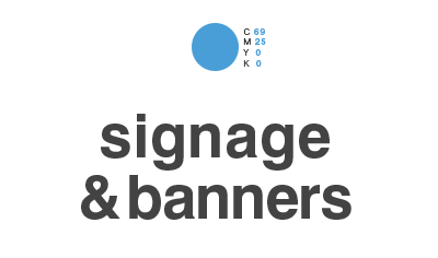 signage & banners